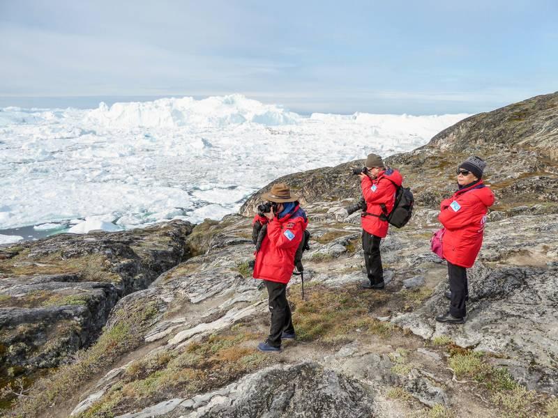 Arctic hike, Arctic cruise