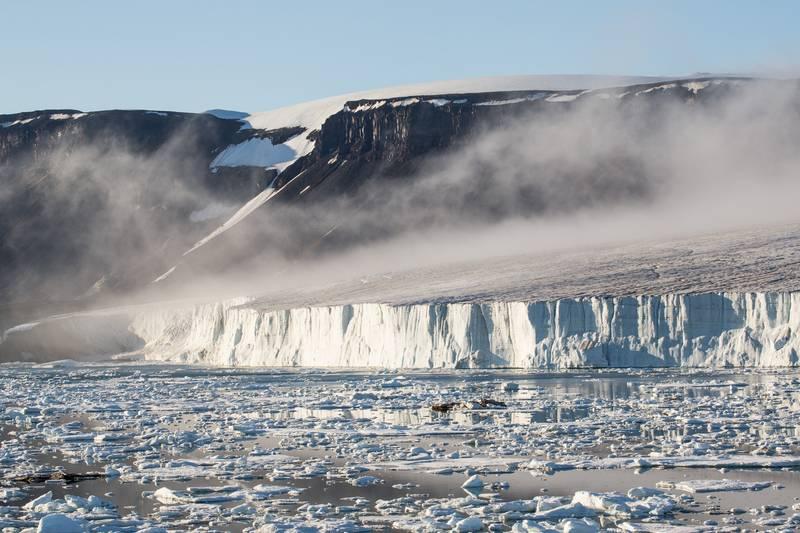 Glacier, Franz Josef Land cruise