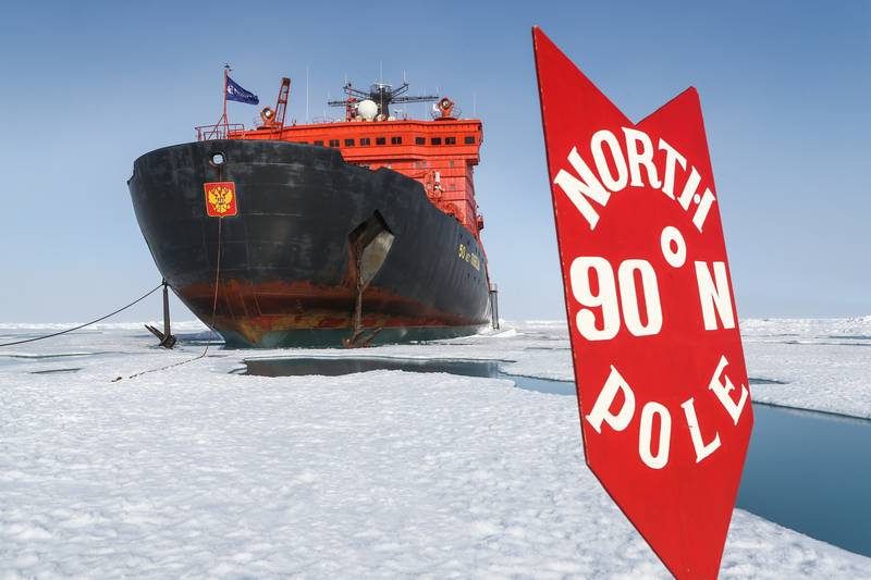 On top of the world, North Pole cruise