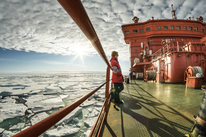 50 Years of Victory ship, Cruise to North Pole
