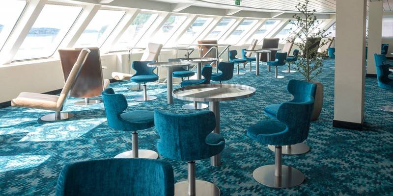 Spitsbergen lounge, Northern Lights cruise