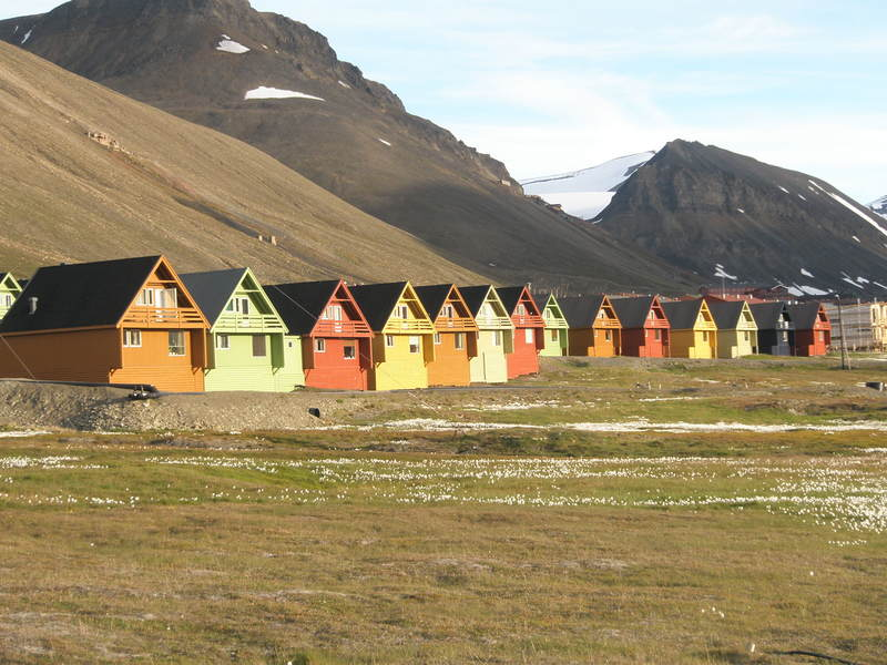 Norway village, Arctic cruise