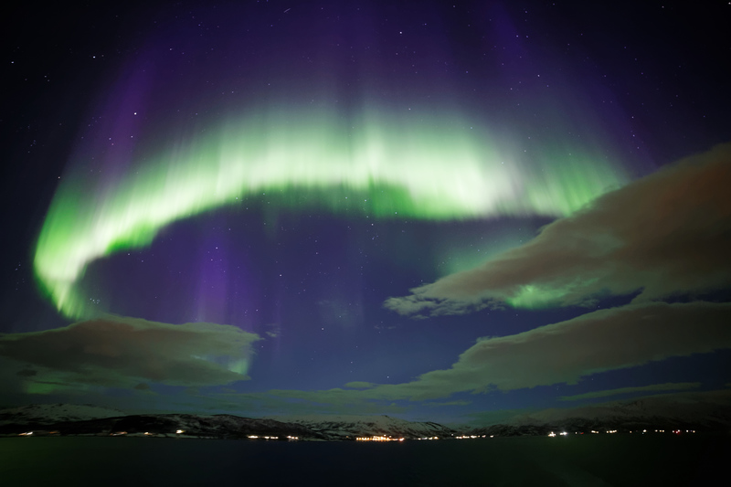 Northern Lights, Norway cruise