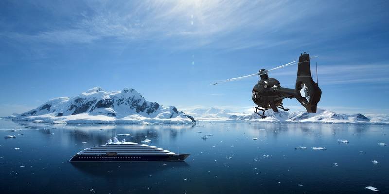 Eclipse, Luxury Antarctic cruise ship