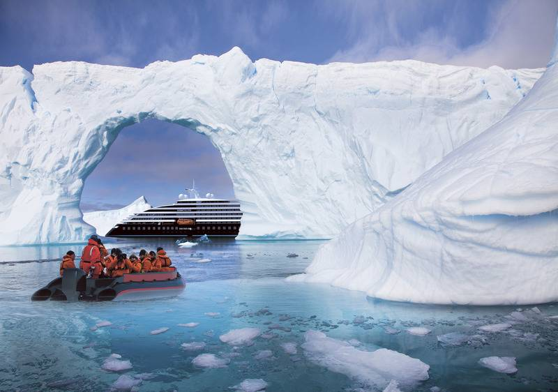 Eclipse Zodiacs, Luxury Antarctic cruise ship