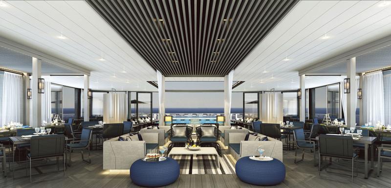 Eclipse Bar, Luxury Antarctic cruise ship