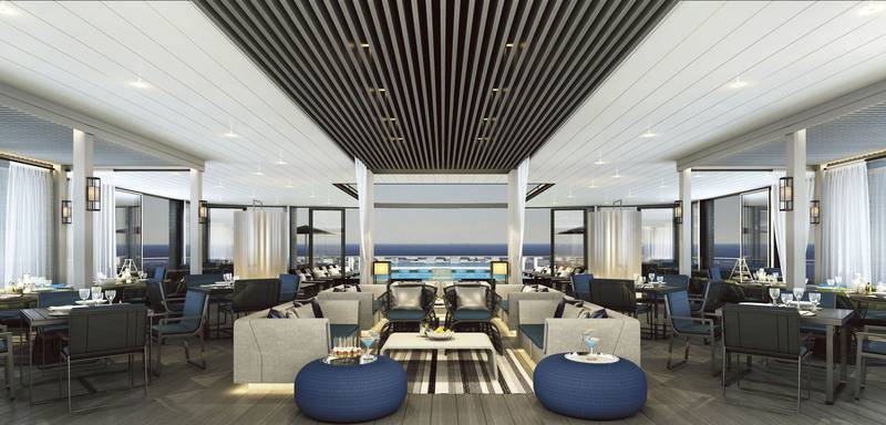 Eclipse Bar, Luxury Antarctic cruise ship