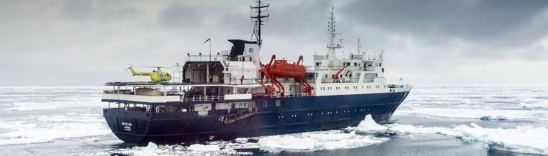 Ortelius Antarctica cruise ship