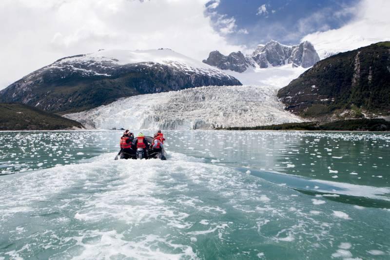 patagonia fjords zodiac cruise