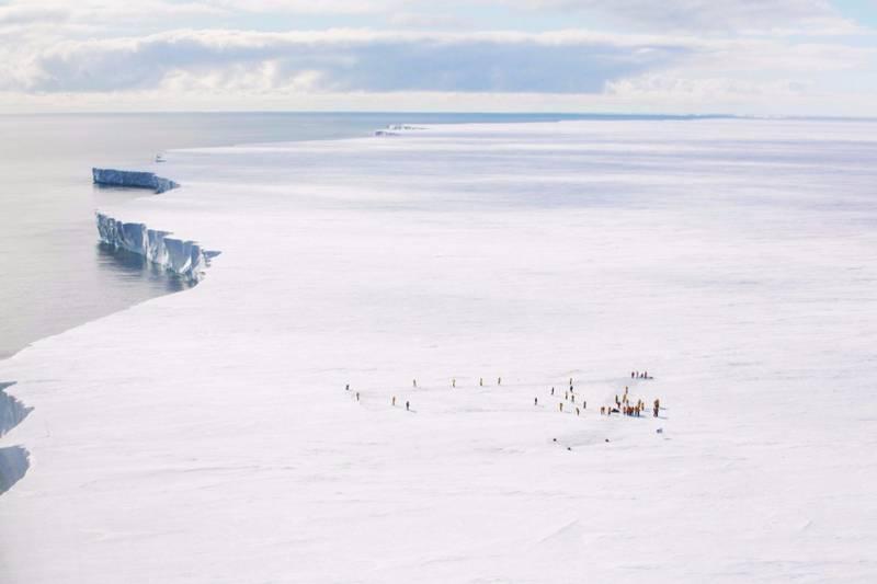 Kapitan Khlebnikov snow hill island voyage