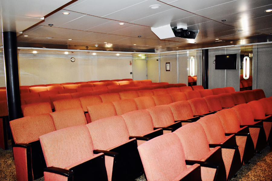 one ocean expeditions-ship-resolute lecture theatre