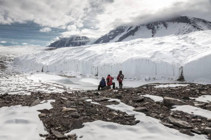 Canada glacier_ross sea_antarctica