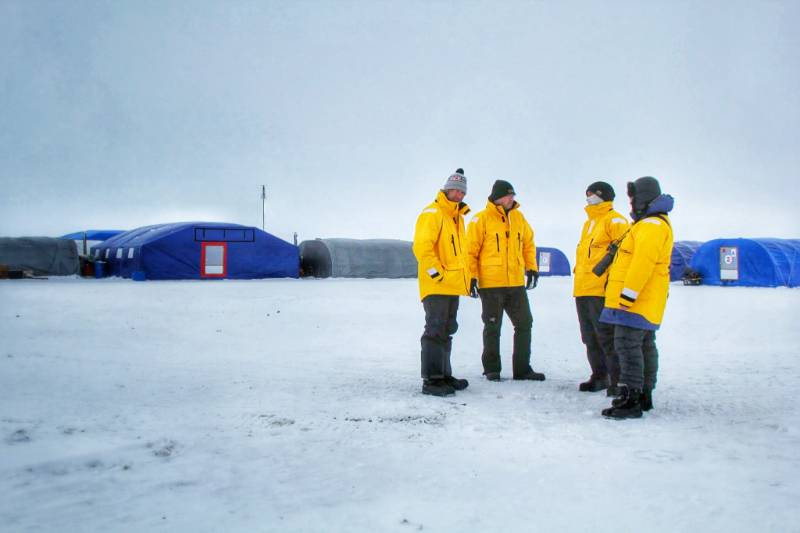 barneo ice camp north pole expedition