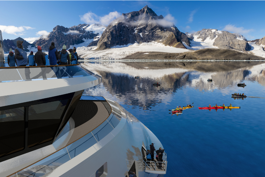 aurora expeditions - greg mortimer