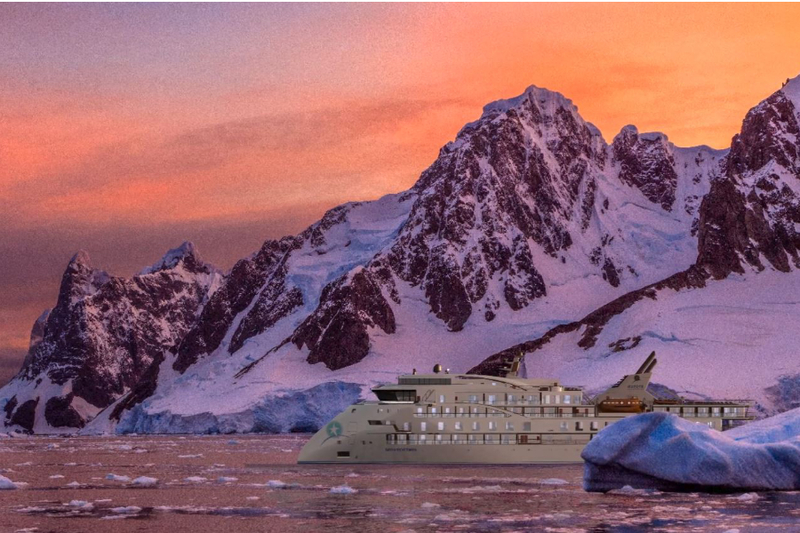 aurora expeditions - greg mortimer ship