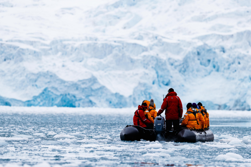 Quark Expeditions - ocean adventurer - franz josef land