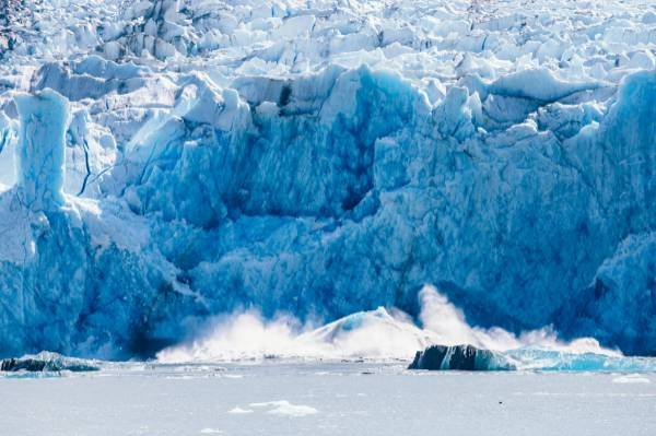alaska glacier calving