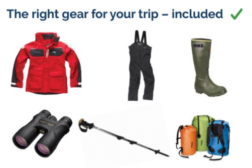 included expedition gear