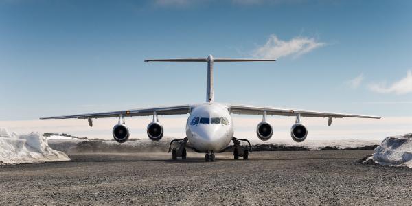 antarctica charter flight
