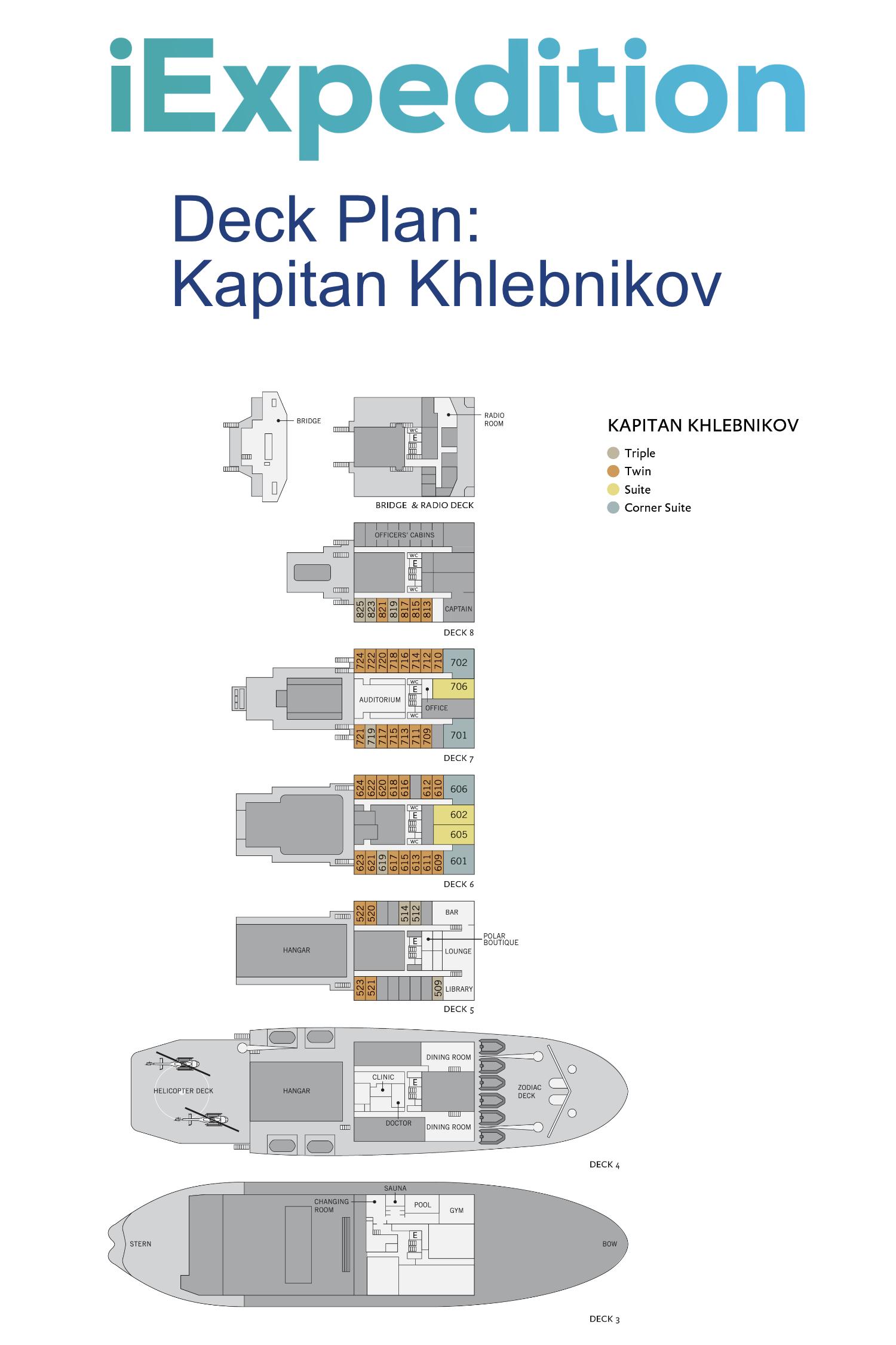 Kapitan khlebnikov deck plan