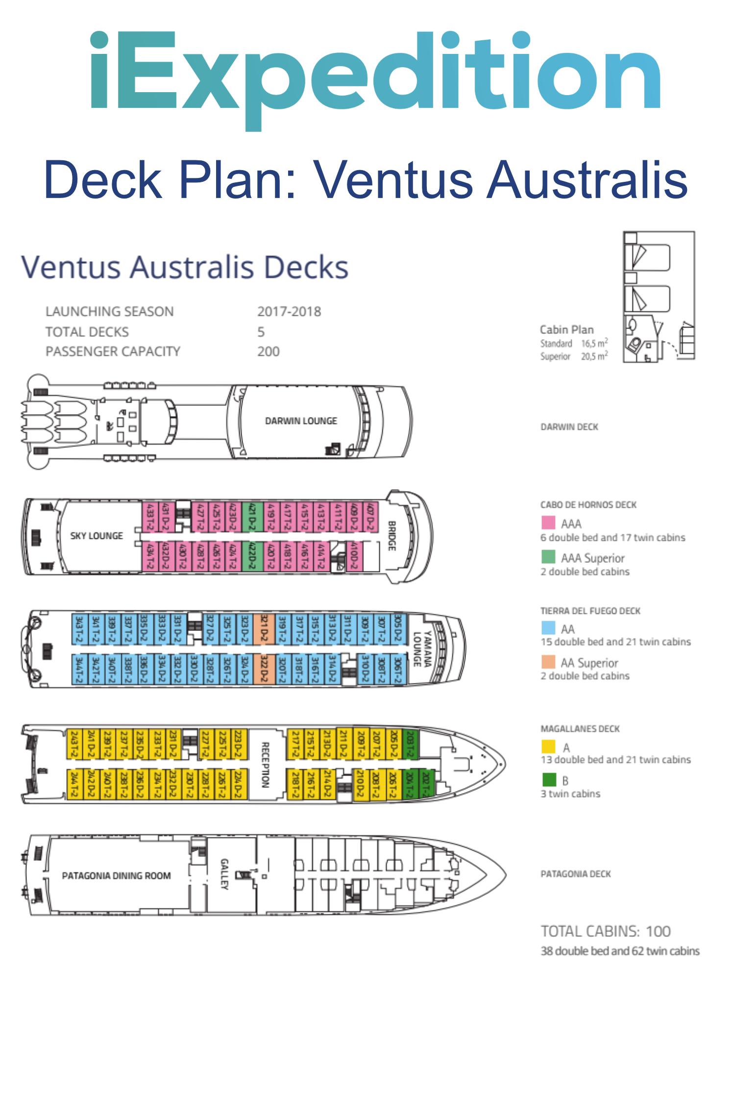 Ventus australis deck plan
