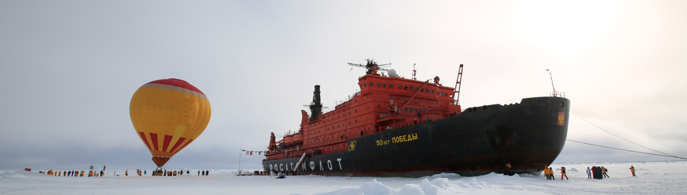 50 Years of Victory North Pole cruise expedition ship