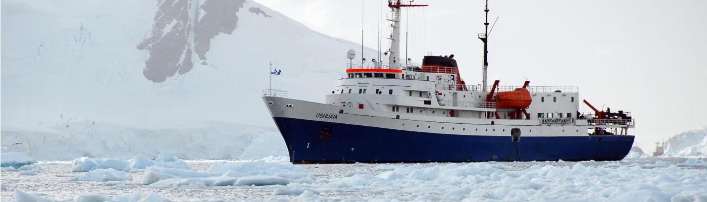 MV Ushuaia Antarctica expedition ship