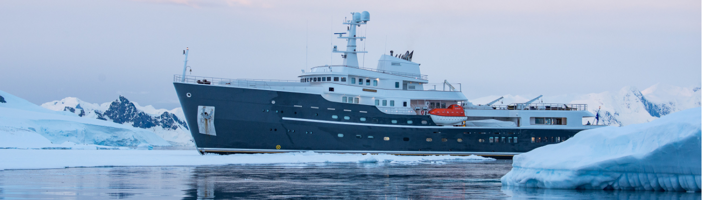 legend private charter vessel antarctica