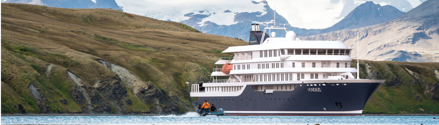 Janssonius Antarctica cruise ship