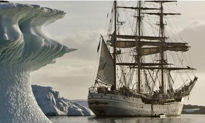 bark europa tall ship antarctica cruise