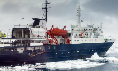 MV Ortelius polar expedition vessel