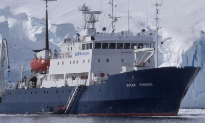 polar pioneer polar expedition ship antarctica and arctic
