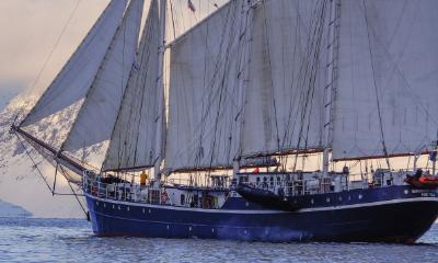 Rembrandt Van Rijn sailing arctic vessel