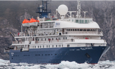 sea spirit luxury antarctica cruise ship