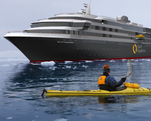 World Explorer, Cruise to Antarctica