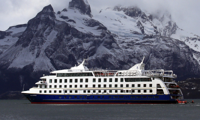 Stella Australis patagonia south america cruise ship