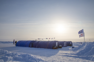 barneo ice camp north pole lodge