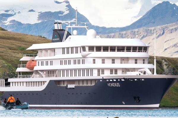Janssonius Antarctica cruise ship