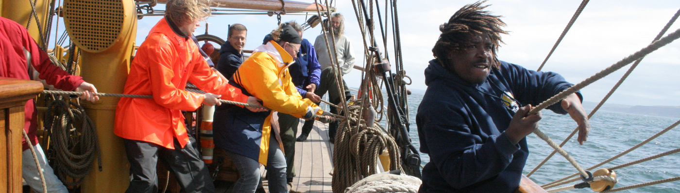 bark europa sail on tall ship to the falkland islands