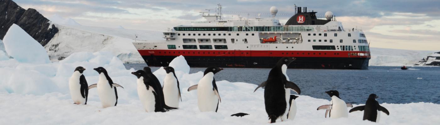 fram christmas in antarctica