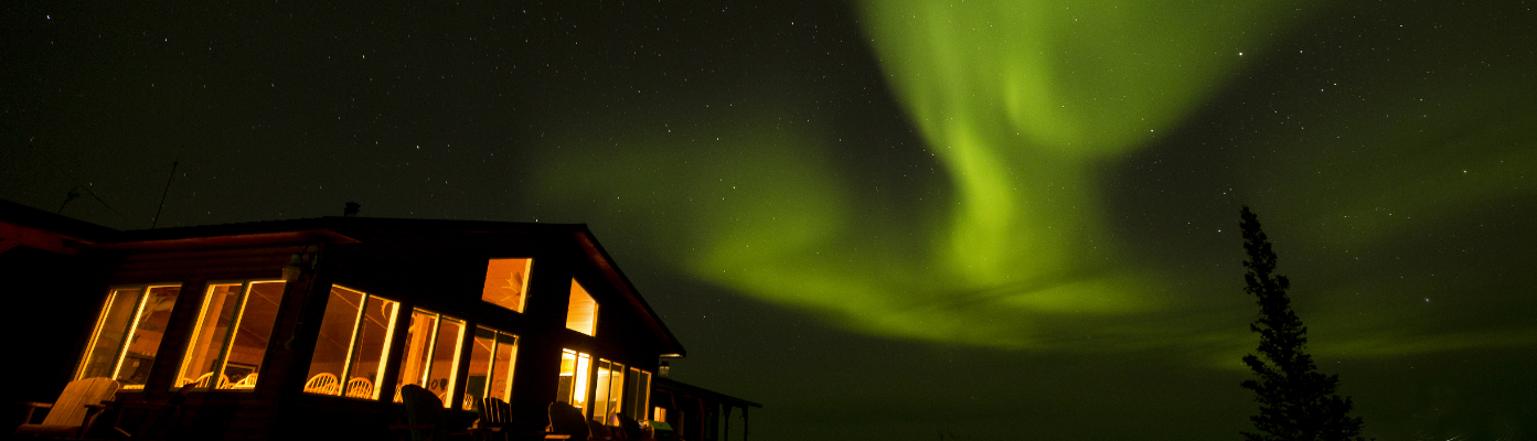 arctic haven wilderness lodge aurora borealis