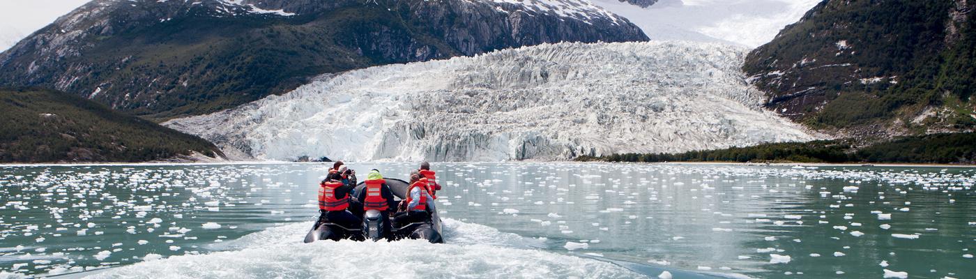 Patagonia fjords cruise australis