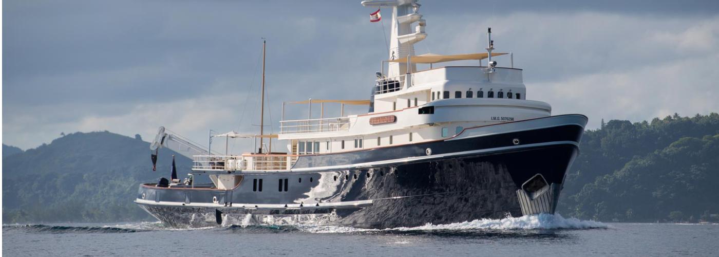 seawolf private super-yacht antarctica cruise