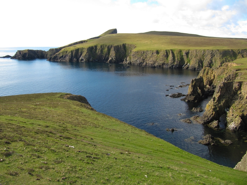 Fair isle landscape erwin vermeulen oceanwide expeditions