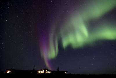 arctic haven wilderness lodge aurora borealis