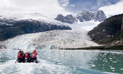 Pia glacier