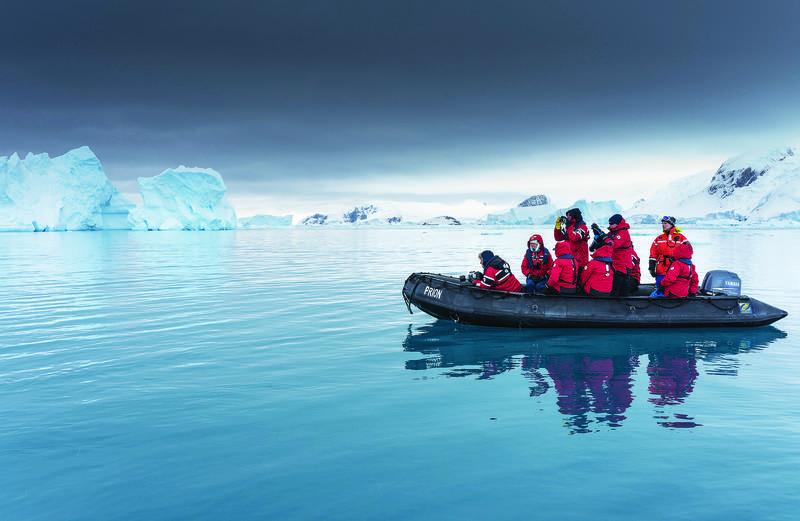 island sky antarctic peninsula cruise