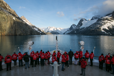 Le Soleal luxury south georgia & antarctica circle cruise