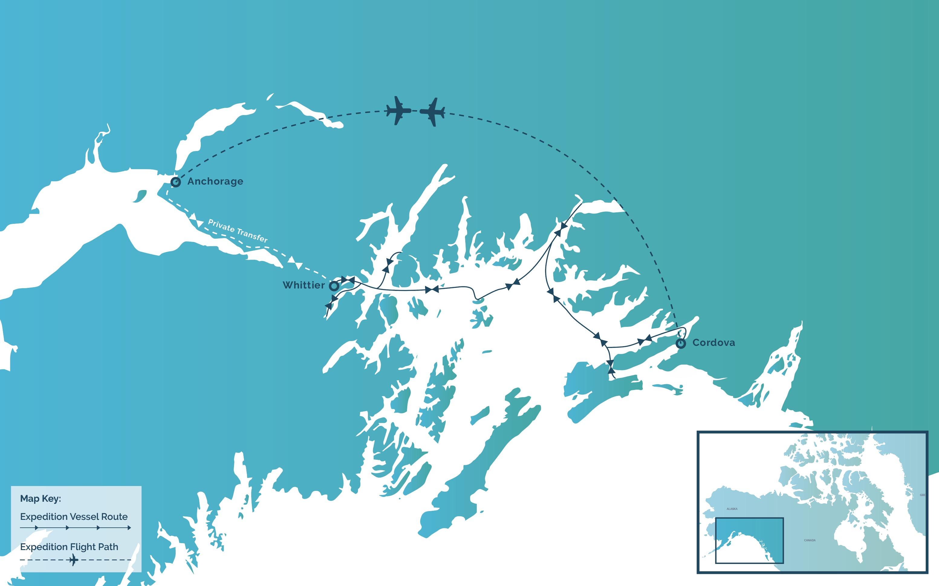 Alaska map