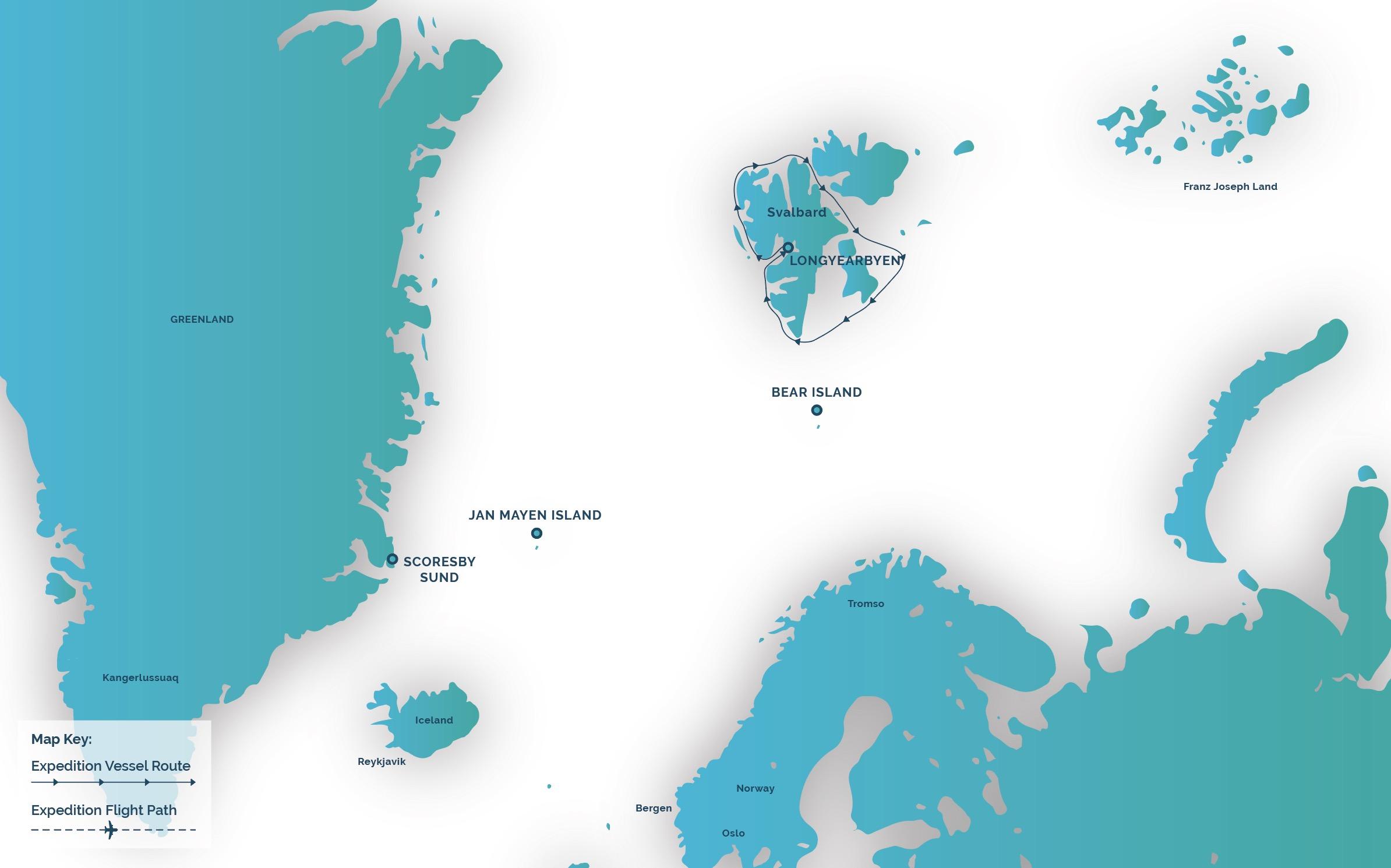Aurora ex spitsbergen odyssey
